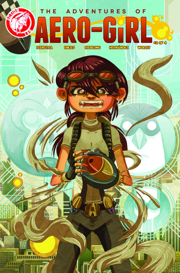 The Adventures of Aero-Girl #2 (Variant Cover)
