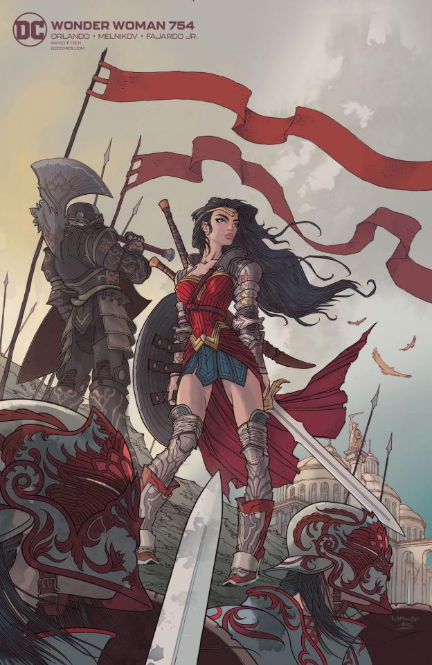 Wonder Woman #754 (Card Stock Rafael Grampa Cover)