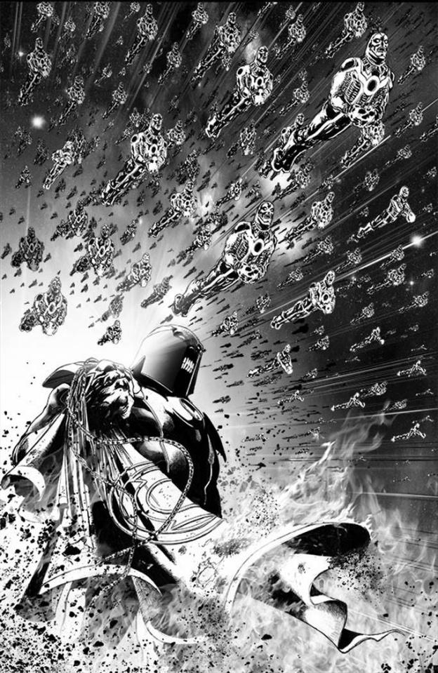 Red Lanterns #16 (Black & White Cover)