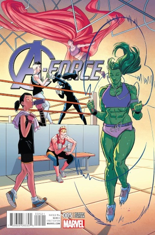 A-Force #5 (Anka Cover)