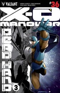 X-O Manowar #36 (Sandoval Cover)