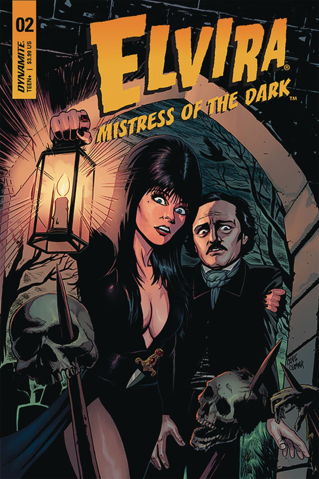 Elvira: Mistress of the Dark #2 (Cermak Cover)