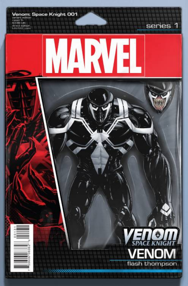Venom: Space Knight #1 (Christopher Action Figure Cover)