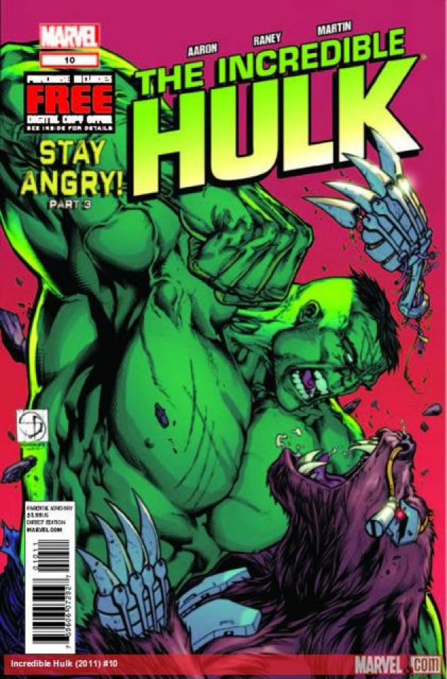 The Incredible Hulk #10