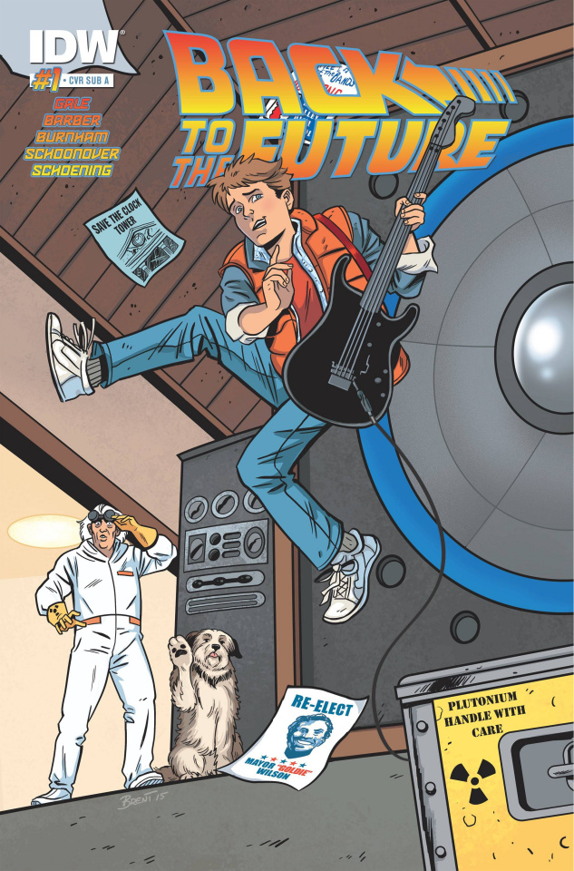 Back to the Future #1 (Cover A)