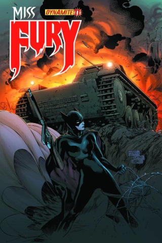 Miss Fury #11 (Tan Cover)