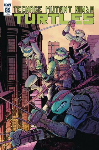 Teenage Mutant Ninja Turtles #85 (10 Copy O'Sullivan Cover)