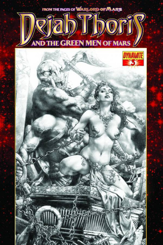 Dejah Thoris & The Green Men of Mars #3 (Subscription Cover)