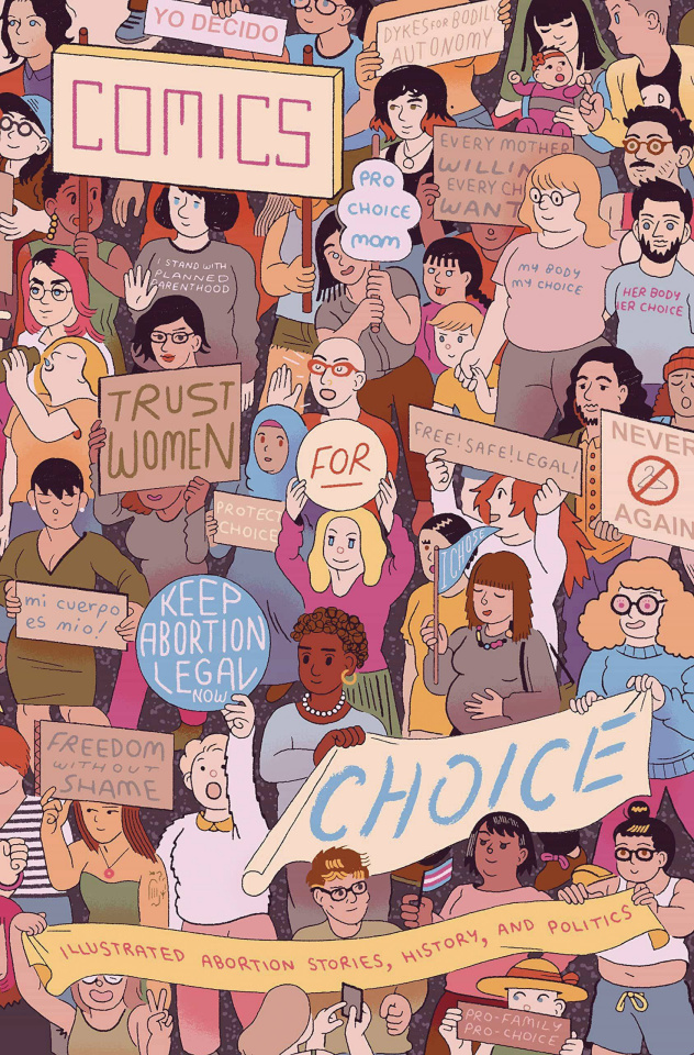 Comics for Choice: Illustrated Abortion Stories Anthology