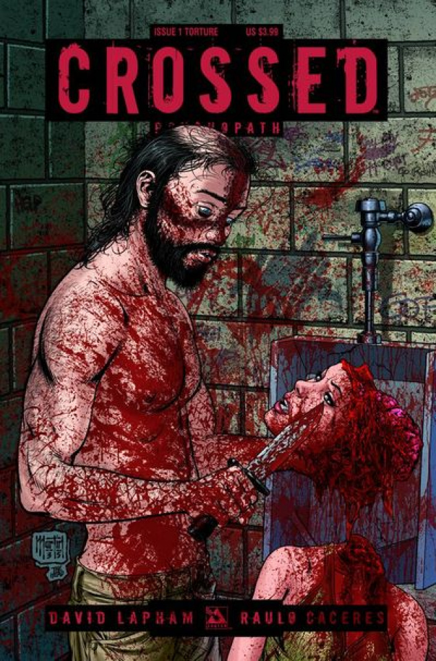 Crossed: Psychopath #1 (Torture Cover)
