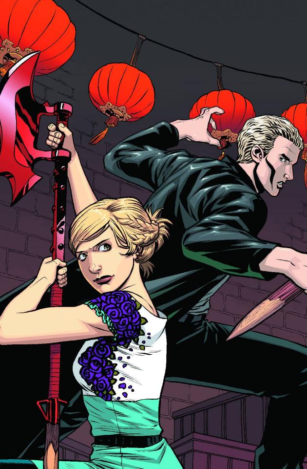 Buffy the Vampire Slayer, Season 10 #9 (Isaacs Cover)