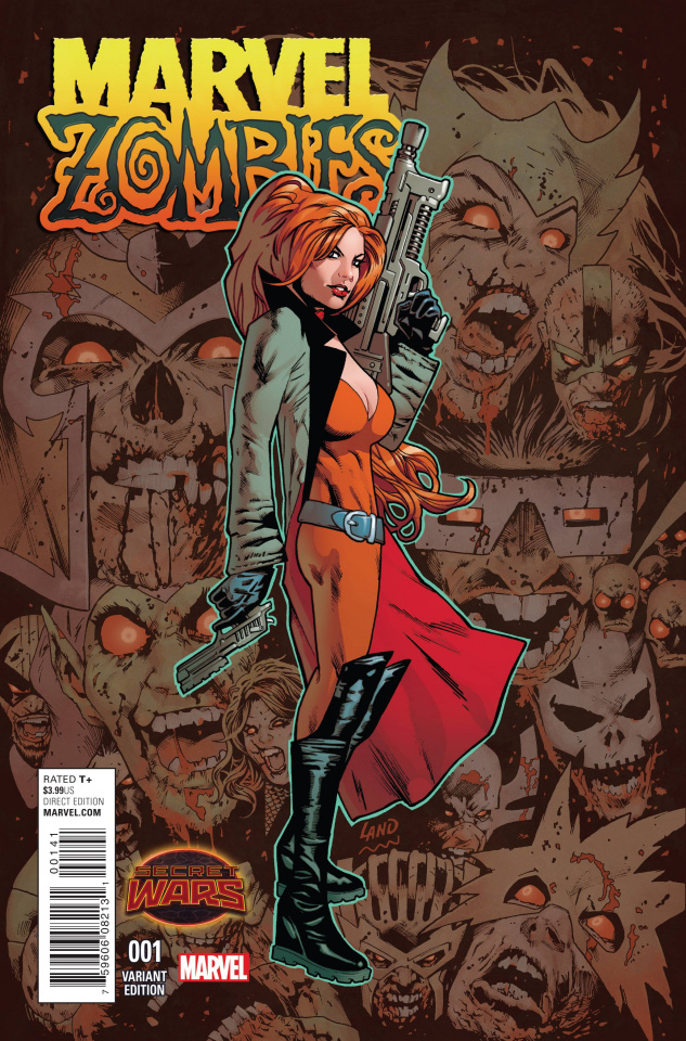 Marvel Zombies #1 (Land Cover)