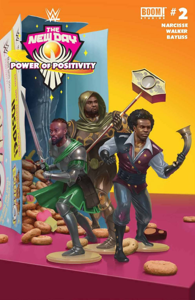 WWE: The New Day - Power of Positivity #2 (Rahzzah Cover)