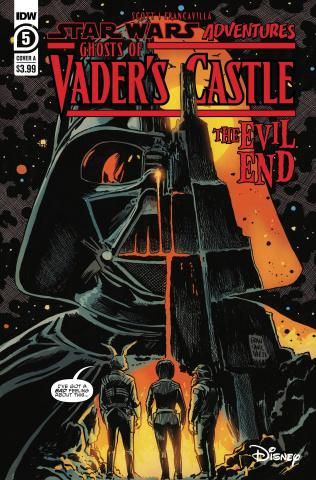 Star Wars Adventures: Ghosts of Vader's Castle #5 (Francavilla Cover)