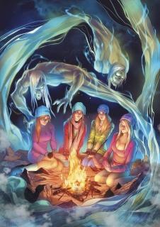 Spirit Hunters #8 (Qualano Cover)