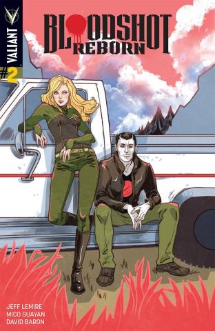 Bloodshot: Reborn #2 (10 Copy Sauvage Cover)