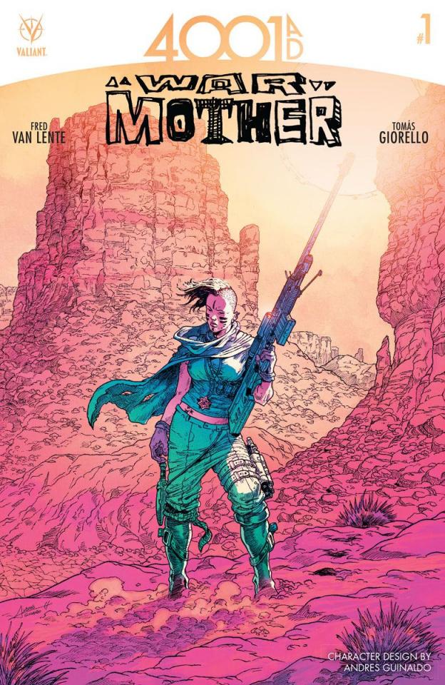 4001 AD: War Mother #1 (10 Copy Guinaldo Cover)