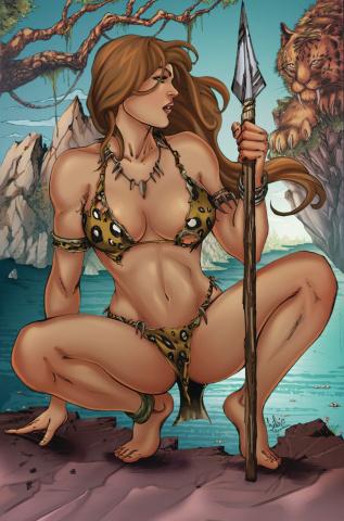 Cavewoman: Kabbit's Club (Fabio Andeson Cover)