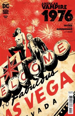 American Vampire: 1976 #10 (Rafael Albuquerque Cover)