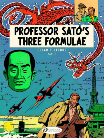 Blake & Mortimer Vol. 22: Professor Sato's Three Formulae