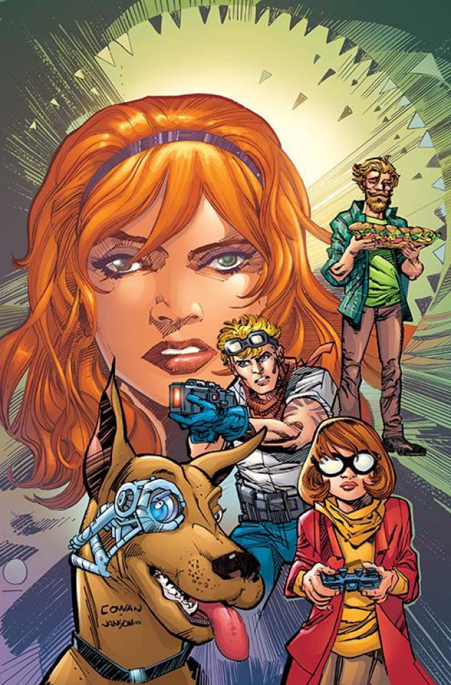 Scooby: Apocalypse #4 (Variant Cover)
