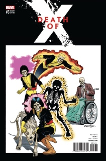 Death of X #3 (McLeod Classic Cover)