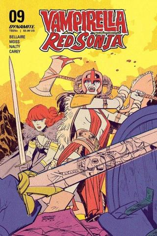 Vampirella / Red Sonja #10 (Romero Cover)