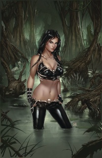 Grimm Fairy Tales: Day of the Dead #3 (Krome Cover)