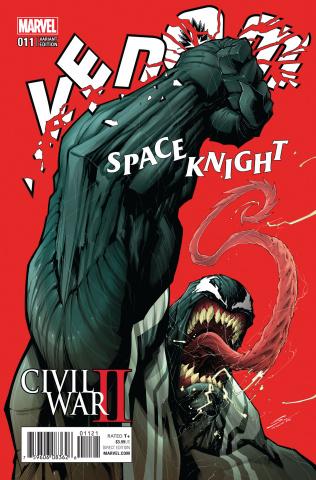 Venom: Space Knight #11 (Sandoval Cover)