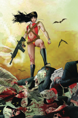 Vampirella #10 (30 Copy Gunduz Virgin Cover)