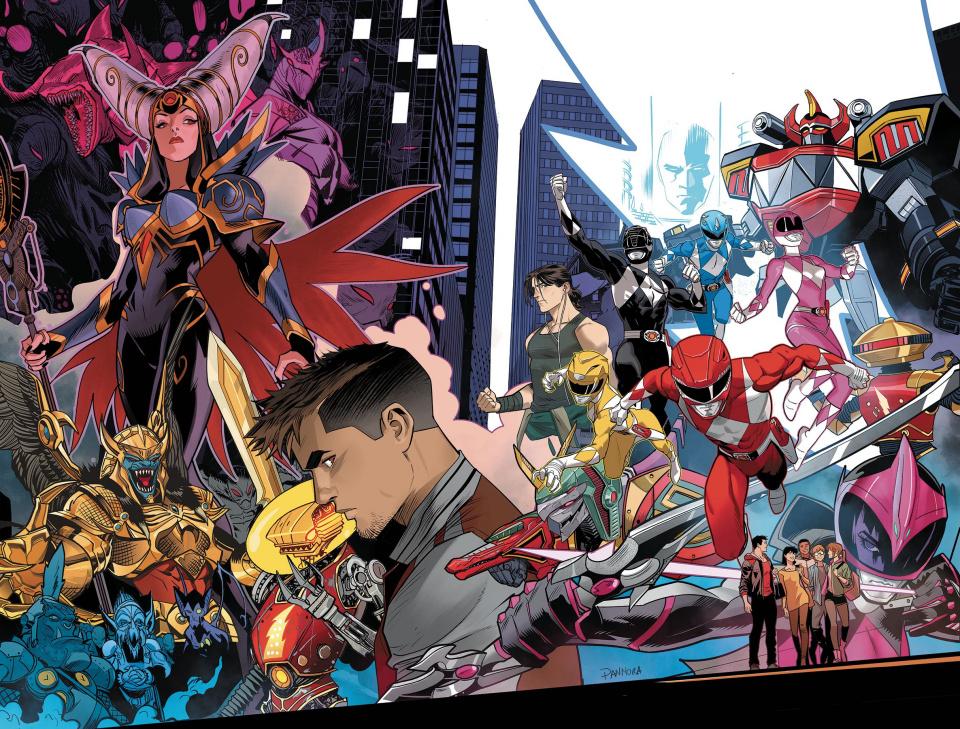 Go, Go, Power Rangers! Forever Rangers #1