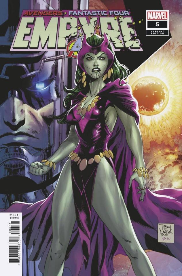 Empyre #5 (Daniel Skrull/Kree Cover)