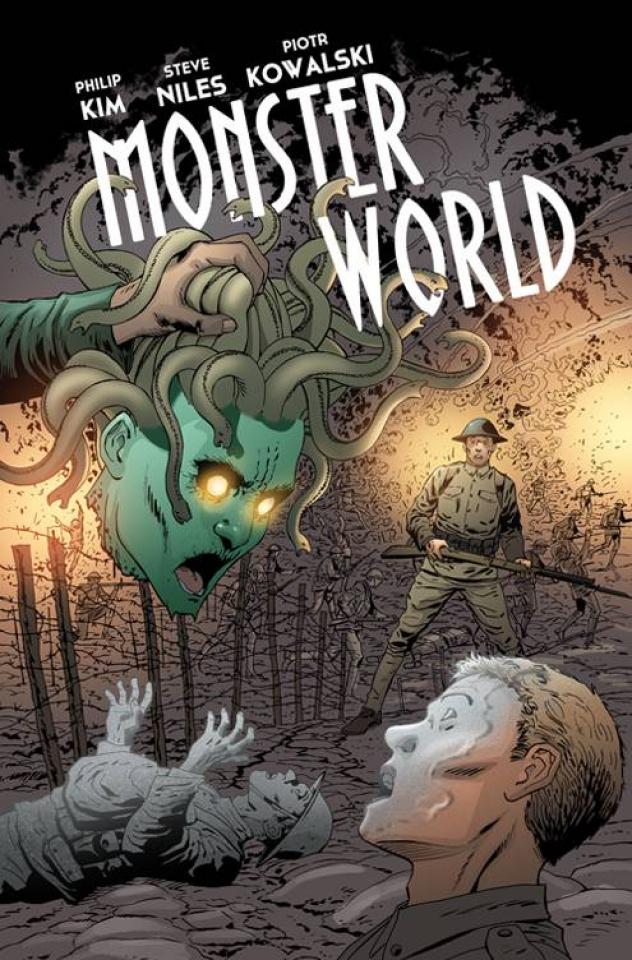 Monster World #3 (Kowalski Cover)