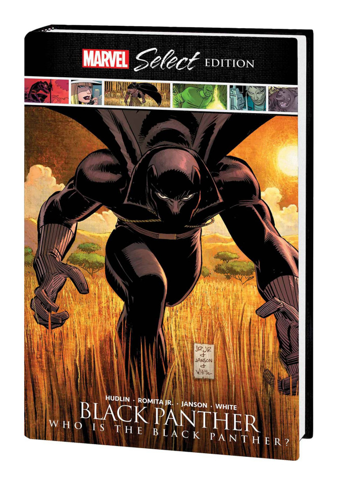 Black Panther: Who is the Black Panther? (Marvel Select)