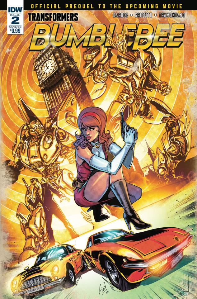 Transformers: Bumblebee Movie Prequel #2 (Ossio Cover)