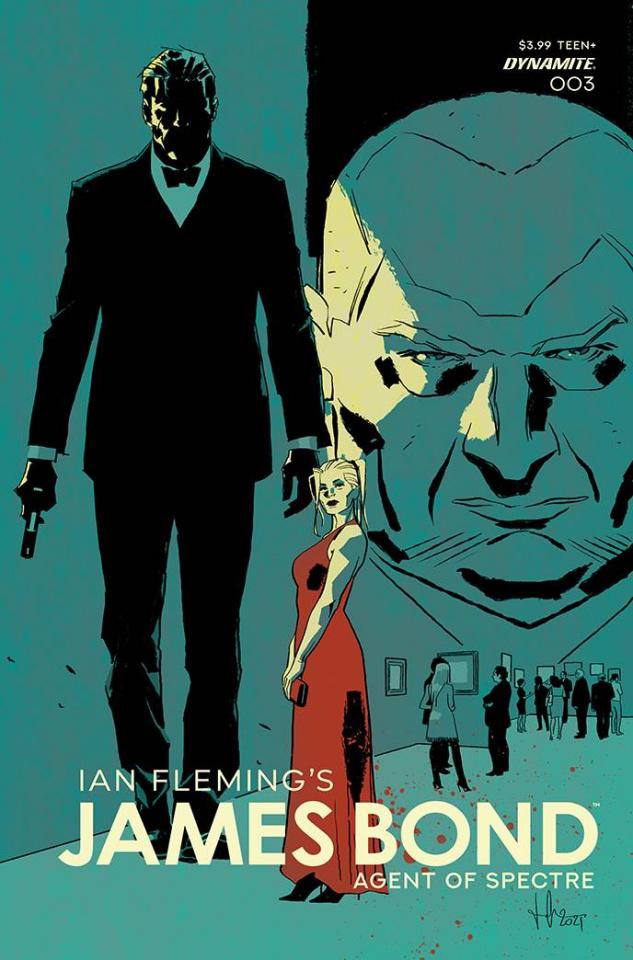 James Bond: Agent of SPECTRE #3 (Premium Casalanguida Cover)