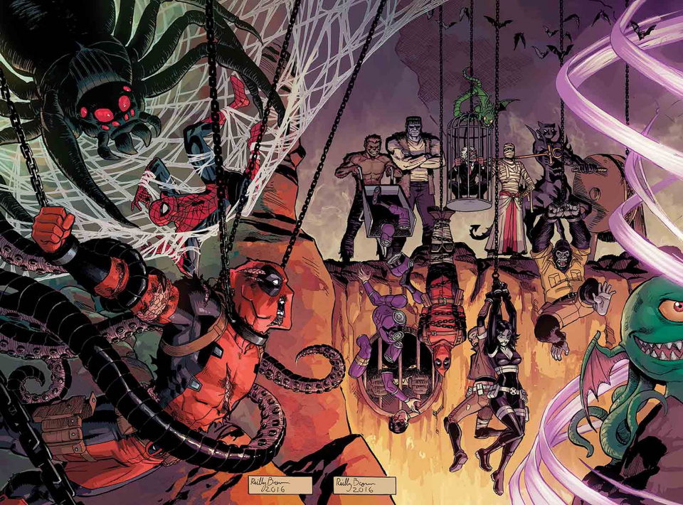 Deadpool and the Mercs For Money #10