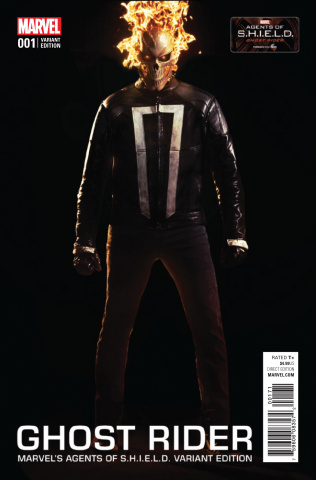 Ghost Rider #1 (TV Photo Cover)