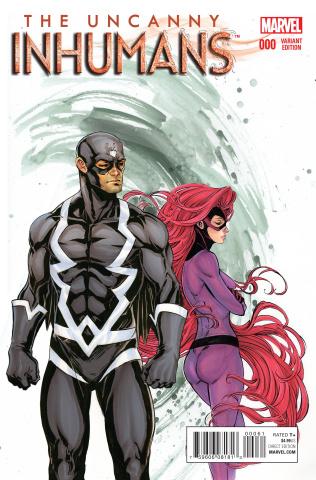 The Uncanny Inhumans #0 (Oum Cover)