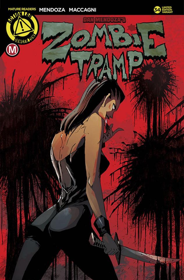 Zombie Tramp #34 (Maccagni Cover)