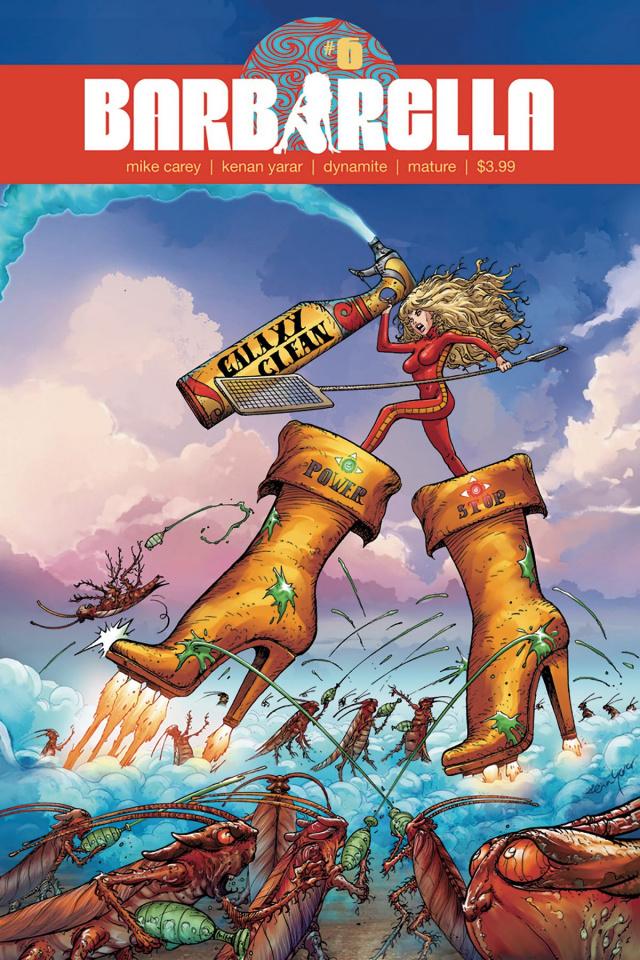 Barbarella #6 (Yarar Subscription Cover)