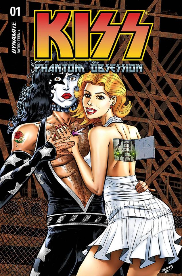 KISS: Phantom Obsession #1 (Seeley Cover)