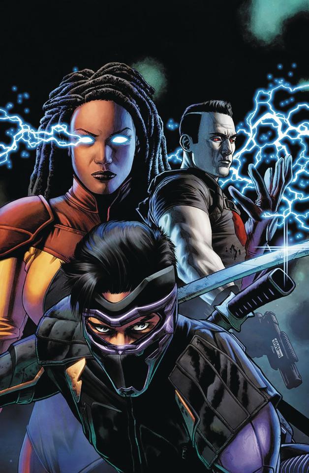 Ninjak vs. The Valiant Universe #2 (Cafu Cover)