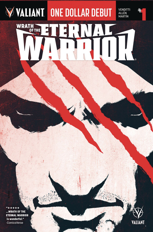 Wrath of the Eternal Warrior #1 (One Dollar Debut)