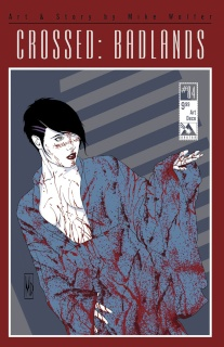 Crossed: Badlands #84 (Art Deco Cover)