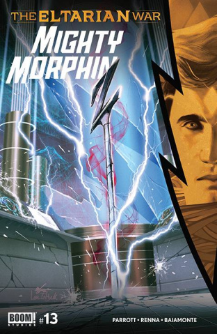 Mighty Morphin #13 (Lee Cover)