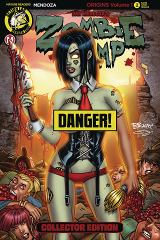 Zombie Tramp: Origins #2 (Risque Gory Cover)