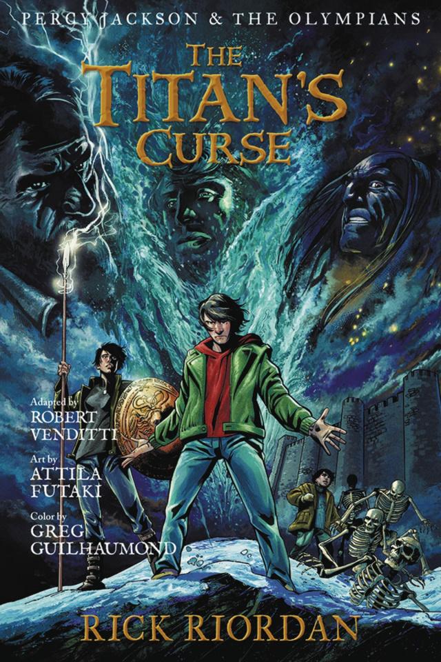 Percy Jackson & The Olympians Vol. 3: The Titan's Curse