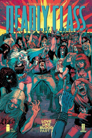 Deadly Class #34 (Hensley Cover)