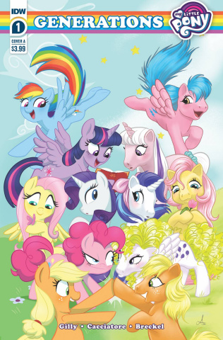My Little Pony: Generations #1 (Mebberson Cover)